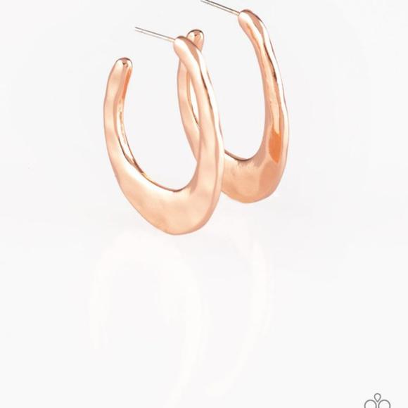 paparazzi Jewelry - Hoop me up Paparazzi Earrings